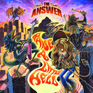 Chris Sheldon, The Answer Raise A Little Hell - album